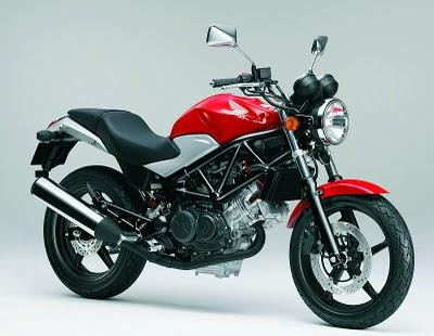 2011 Honda VTR250 red