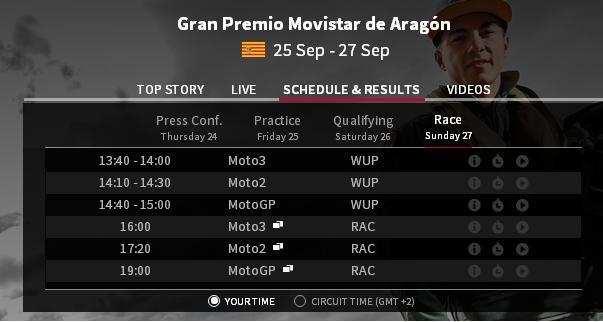 race aragon 2015