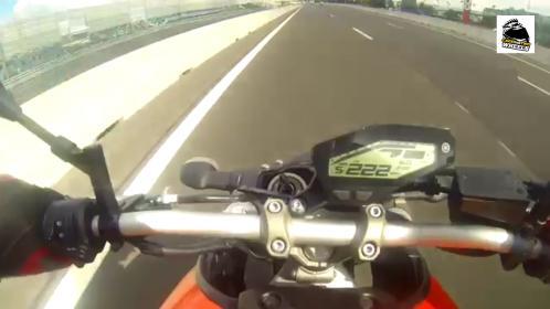 speedometer MT09