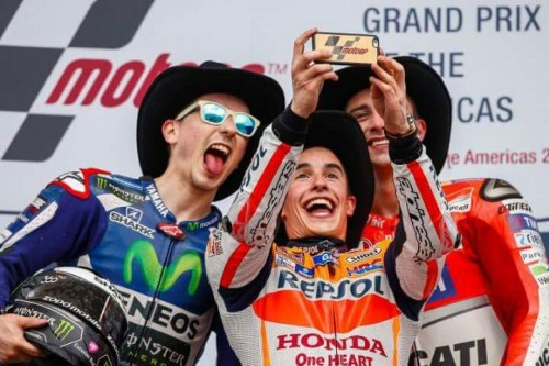 podium motogp austin 2016