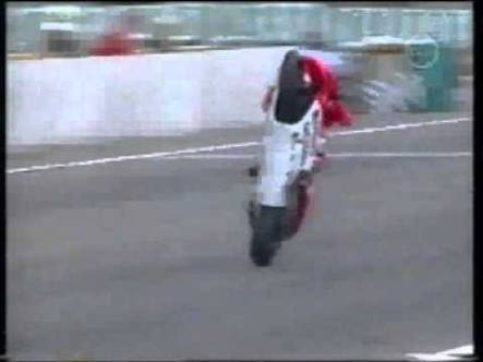 max biaggi huge wheelie