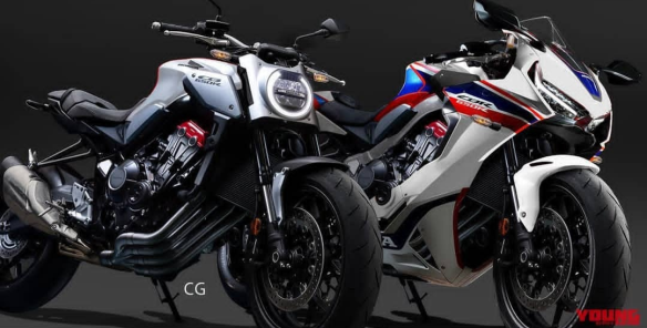 Perkiraan Desain Terbaru Honda Cbr650r Dan Cb650r Makin Seram Dan